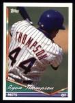1994 Topps #98  Ryan Thompson  Front Thumbnail