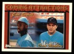 1994 Topps #781  Carl Everett  /  Dave Weathers  Front Thumbnail