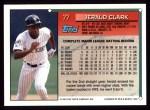 1994 Topps #77  Jerald Clark  Back Thumbnail