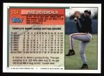 1994 Topps #534  Mike Devereaux  Back Thumbnail