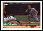 1994 Topps #126  Hal Morris  Front Thumbnail