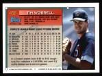 1994 Topps #458  Tim Worrell  Back Thumbnail