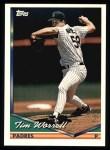 1994 Topps #458  Tim Worrell  Front Thumbnail