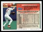 1994 Topps #406  Jose Oquendo  Back Thumbnail