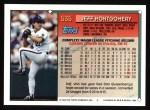 1994 Topps #535  Jeff Montgomery  Back Thumbnail