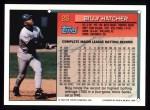 1994 Topps #26  Billy Hatcher  Back Thumbnail
