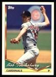1994 Topps #473  Bob Tewksbury  Front Thumbnail