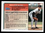 1994 Topps #409  Joe Klink  Back Thumbnail
