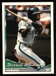 1994 Topps #161  Darrell Whitmore  Front Thumbnail