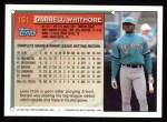 1994 Topps #161  Darrell Whitmore  Back Thumbnail