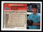 1994 Topps #47  Richie Lewis  Back Thumbnail