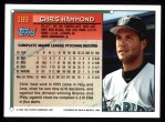 1994 Topps #189  Chris Hammond  Back Thumbnail