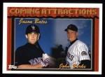 1994 Topps #780  Jason Bates / John Burke  Front Thumbnail