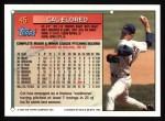 1994 Topps #45  Cal Eldred  Back Thumbnail
