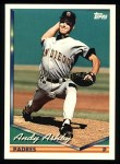 1994 Topps #648  Andy Ashby  Front Thumbnail