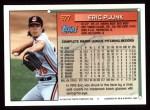 1994 Topps #577  Eric Plunk  Back Thumbnail