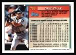 1994 Topps #736  Dave Valle  Back Thumbnail