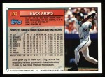 1994 Topps #104  Alex Arias  Back Thumbnail