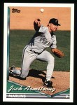1994 Topps #551  Jack Armstrong  Front Thumbnail
