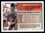 1994 Topps #559  Todd Van Poppel  Back Thumbnail