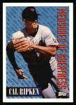 1994 Topps #604   -  Cal Ripken Measures of Greatness Front Thumbnail