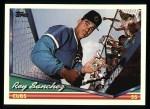 1994 Topps #422  Rey Sanchez  Front Thumbnail