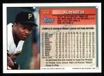 1994 Topps #366  Al Martin  Back Thumbnail