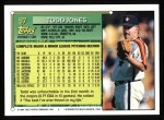1994 Topps #97  Todd Jones  Back Thumbnail