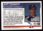 1995 Topps #603  Jeff Fassero  Back Thumbnail