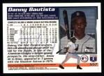 1995 Topps #557  Danny Bautista  Back Thumbnail