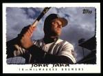 1995 Topps #505  John Jaha  Front Thumbnail