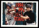 1995 Topps #387   -  Cal Ripken  Jr. /  Will Cordero All-Star Front Thumbnail