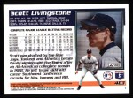 1995 Topps #483  Scott Livingstone  Back Thumbnail