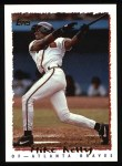 1995 Topps #61  Mike Kelly  Front Thumbnail