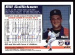 1995 Topps #249  Bill Gullickson  Back Thumbnail