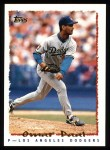 1995 Topps #518  Omar Daal  Front Thumbnail