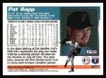 1995 Topps #497  Pat Rapp  Back Thumbnail