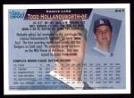 1995 Topps #247  Todd Hollandsworth  Back Thumbnail