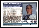 1995 Topps #354  Todd Stottlemyre  Back Thumbnail