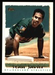 1995 Topps #338  Stan Javier  Front Thumbnail