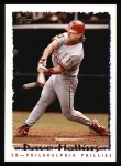 1995 Topps #586  Dave Hollins  Front Thumbnail