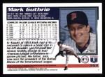 1995 Topps #553  Mark Guthrie  Back Thumbnail