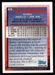 1995 Topps #473  McKay Christensen  Back Thumbnail