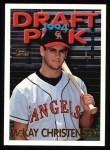 1995 Topps #473  McKay Christensen  Front Thumbnail