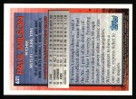 1995 Topps #621  Paul Wilson  Back Thumbnail