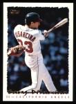 1995 Topps #12  Gary DiSarcina  Front Thumbnail