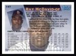 1995 Topps #147  Ray McDavid  Back Thumbnail