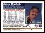 1995 Topps #75  Doug Drabek  Back Thumbnail