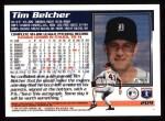 1995 Topps #209  Tim Belcher  Back Thumbnail