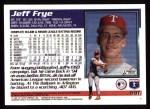 1995 Topps #591  Jeff Frye  Back Thumbnail